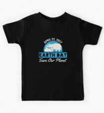 Earth Day Save The Planet Kids Tee