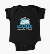 Earth Day Save The Planet One Piece - Short Sleeve