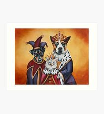 The Royal Family Art Print