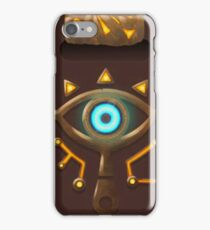 Sheikah Slate Zelda iPhone Case/Skin