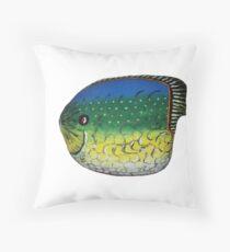 Pet Fish Rock Throw Pillow