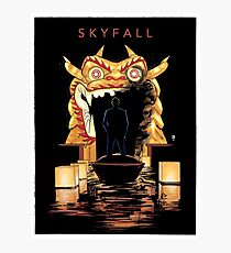SKYFALL art print Photographic Print