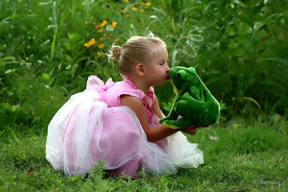 You Have to Kiss a Lot of Frogs...to Find Your Prince by stzlbender