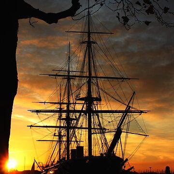 Warrior Sunset by adriano