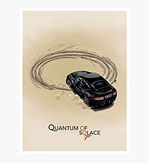QUANTUM OF SOLACE art print Photographic Print