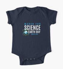 March for Science Earth Day One Piece - Short Sleeve