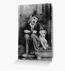 Chaplin Greeting Card