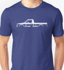Livin' Retro for VW Caddy Mk1 pickup truck enthusiasts Unisex T-Shirt