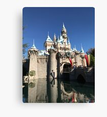 Sleeping Beauty's Castle Canvas Print