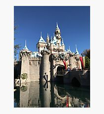 Sleeping Beauty's Castle Photographic Print