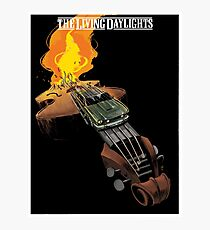 THE LIVING DAYLIGHTS art print Photographic Print