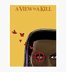 A VIEW TO A KILL art print Photographic Print