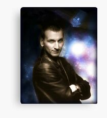 Ninth Doctor - Christopher Eccleston Canvas Print