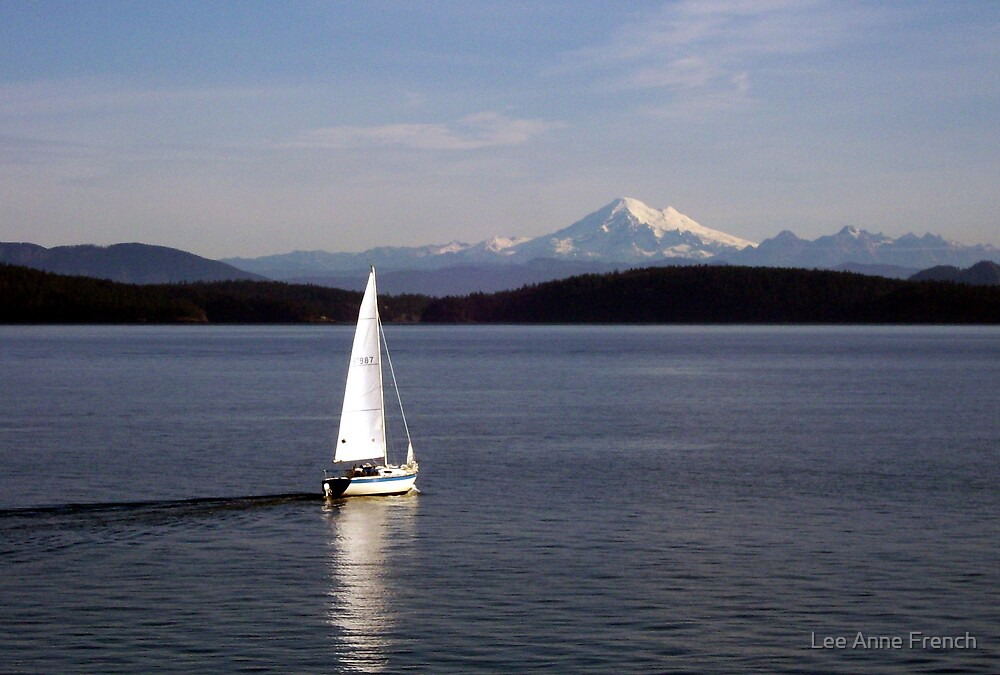 Sailing in November by Lee Anne French