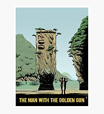 THE MAN WITH THE GOLDEN GUN art print Photographic Print