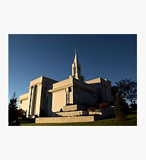 LDS: Bountiful Utah Temple Photographic Print