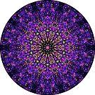 Purple pattern by Gemma Amendola