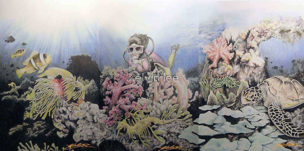 Complete Ocean series by kelvin lee