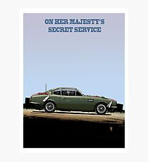 ON HER MAJESTY'S SECRET SERVICE Photographic Print
