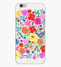 Secret Flower Garden iPhone Case