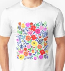 Secret Flower Garden Unisex T-Shirt