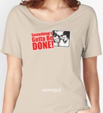 """Quincy - """"Something"""" Women's Relaxed Fit T-Shirt"""