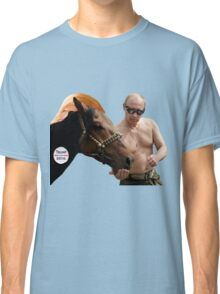 Putin Feeding his Pet Classic T-Shirt