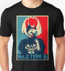 2B Nier Hope Poster T-Shirt