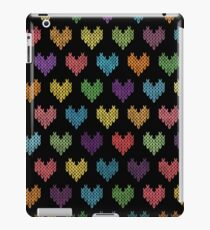 Colorful Knitted Hearts II iPad Case/Skin