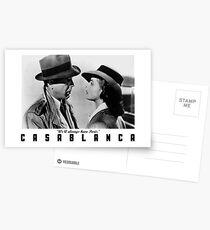 Casablanca - We'll always have Paris Postcards