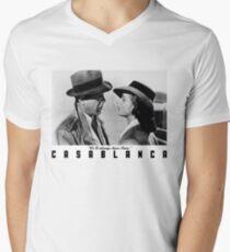 Camiseta para hombre de cuello en v Casablanca - Siempre tendremos París
