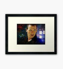 The Ninth Doctor - Christopher Eccleston Framed Print
