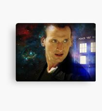 The Ninth Doctor - Christopher Eccleston Canvas Print