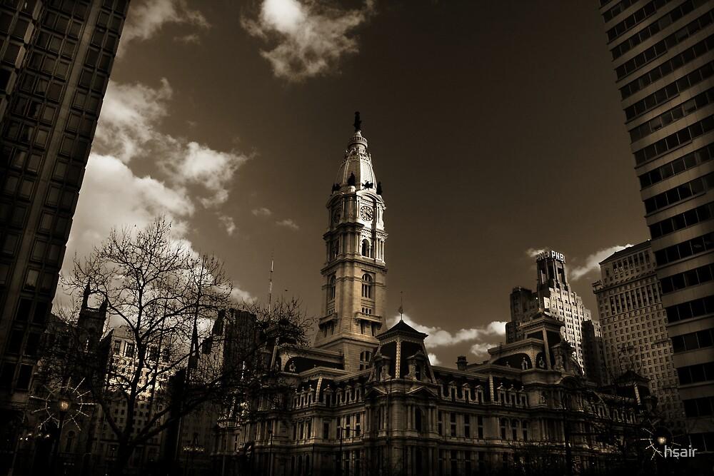 city hall, philadelphia by hsair
