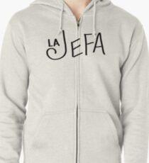 La Jefa Zipped Hoodie