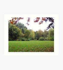 Melton mowbray Park Art Print