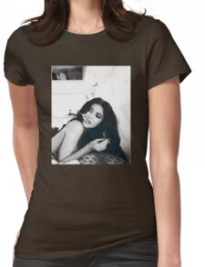 Kylie Jenner Smoking Womens Fitted T-Shirt