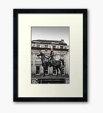 Glasgow, Duke of Wellington Framed Print