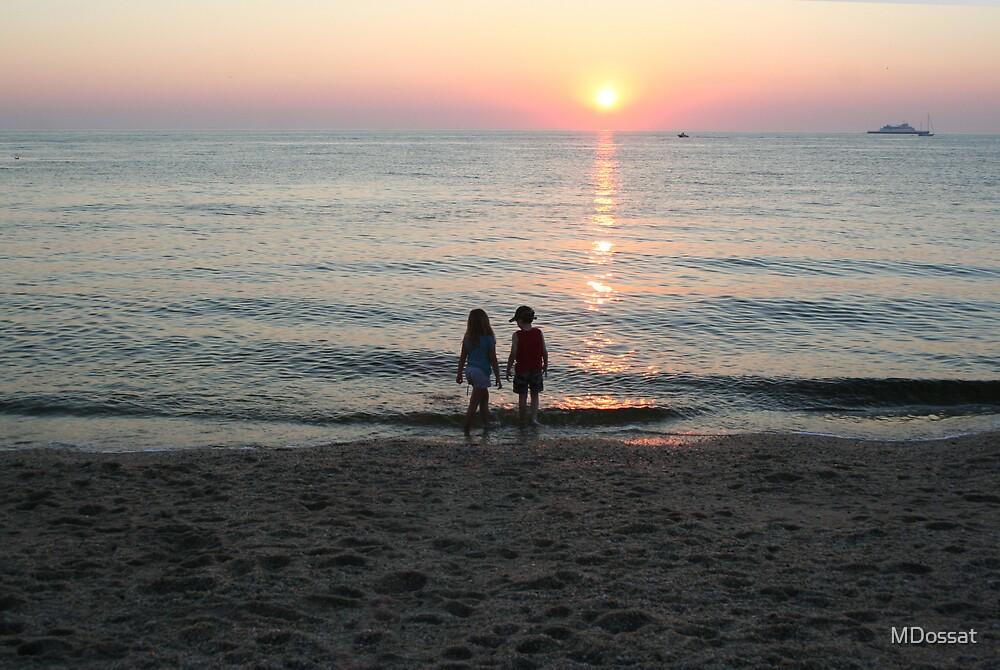 Sunset Beach by MDossat