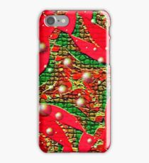 Red For Christmas iPhone Case/Skin