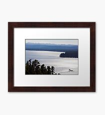 Overlooking Payette Lake - McCall, Idaho Framed Print