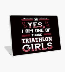 Yes I Am One Of Those Triathlon Girls Laptop Skin