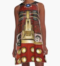 Dalek COSPLAY A-Line Dress