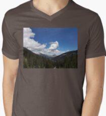 Rocky Mountains Men's V-Neck T-Shirt