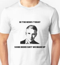 CNN Fake News Slim Fit T-Shirt