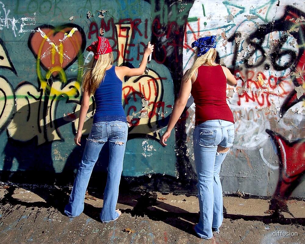 Urban Teens by diffusion