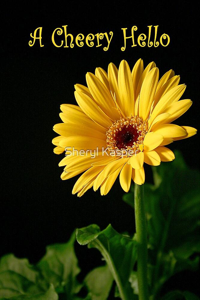 A Cheery Hello Daisy by Sheryl Kasper