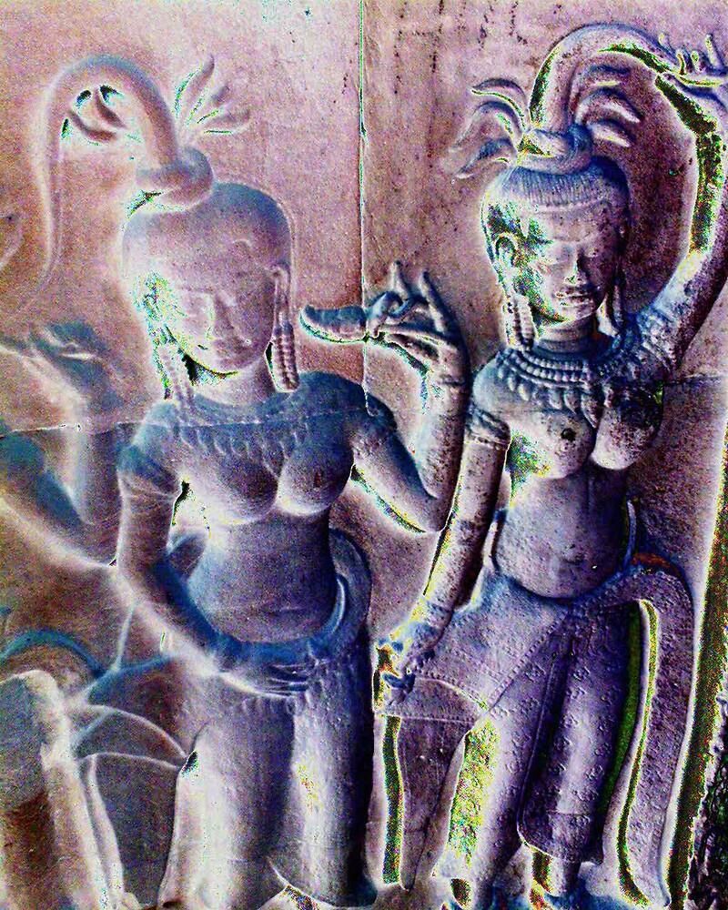 Apsara Dancers by liqwidrok