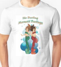 Camiseta ajustada Darling Mermaid Darlings!