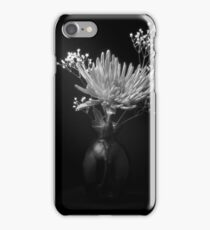 Flower in Classic Black and White iPhone Case/Skin